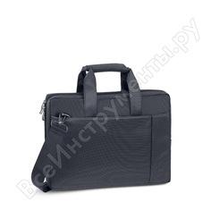 """Сумка для ноутбука и документов rivacase laptop bag black, 13.3"""" 8221"""