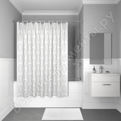 Штора для ванной комнаты iddis 200*180см, полиэстер, d15p218i11