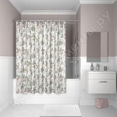 Штора для ванной комнаты iddis 200*180 см, полиэстер, d05p218i11