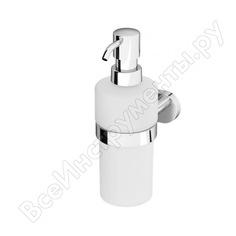Стеклянный диспенсер для жидкого мыла с настенным держателем, хром am.pm a7436900