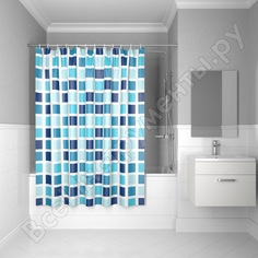 Штора для ванной комнаты iddis 200х180см полиэстер b63p218i11