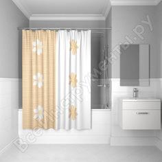 Штора для ванной комнаты iddis 200х180 см полиэстер paloma art scid042p