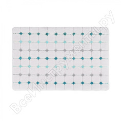 Коврик для ванной комнаты iddis 40х70 см микрофибра p29m470i12