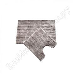 Набор ковриков для ванной комнаты iddis 55х85 + 50х50 см микрофибра b17m585i12