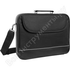 Сумка для ноутбука defender ascetic 15-16 черный, жесткий каркас, карман 26019