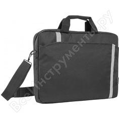 Сумка для ноутбука defender shiny 15-16 черный, светоотражающая полоса 26097