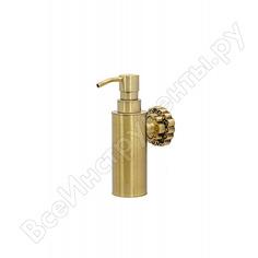 Дозатор для мыла настенный milacio, бронза коллекция villena mc.908.br