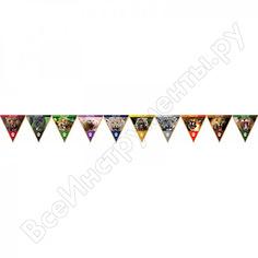Треугольная гирлянда skyway дикие кошки, с бахромой s09901004