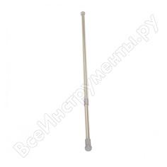 Выкручивающийся карниз vanstore premium, диаметр 25 мм, 110-200 хром, блистер аналог 59220 671-90