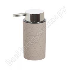 Дозатор для жидкого мыла vanstore diamond - прорезиненное покрытие soft-touch 314-03