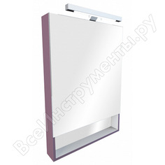 Зеркальный шкаф roca gap 60см, фиолетовый пвх zru9302751/zru9000087 00000039357