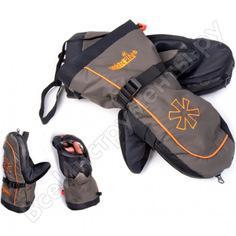 Варежки norfin comfort zip р.l 703076-l