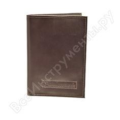 Бумажник водителя автостоп brown натуральная кожа бвл1к