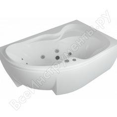 Акриловая ванна aquatek вега 170 левая 00000034365