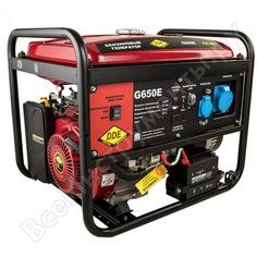 Бензиновый генератор dde g650е 917-439
