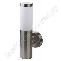 Светильник эра wl17 декоративная подсветка e27 max60w ip54 хром/белый б0034617