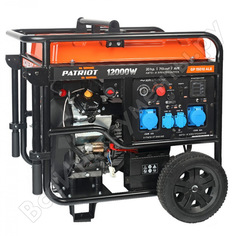 Бензиновый генератор patriot gp 15010ale 474101810