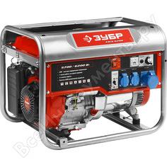 Бензиновый генератор зубр 6200/5700вт, 220/12в зэсб-6200