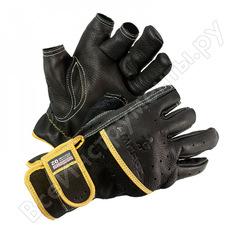 Антивибрационные усеченные комбинированные перчатки ампаро вибростат 02, размер 10 6202.10