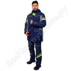 Зимняя куртка факел profline specialist, серый/темно-синий, 64-66, 170-176 87468963.011