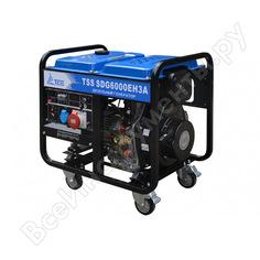 Дизельный генератор тсс sdg 6000eh3a 077016