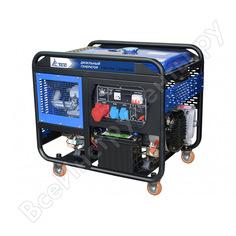 Дизельный генератор с электронной панелью тсс sdg 12000eh3 077031