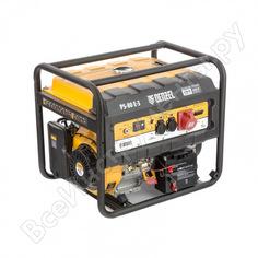 Бензиновый генератор denzel ps 80 e-3, 6,5 квт, 400в, 25л 946954