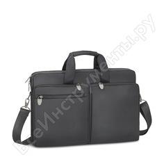 """Сумка для ноутбука и документов rivacase laptop bag black, 17.3"""" 8550"""