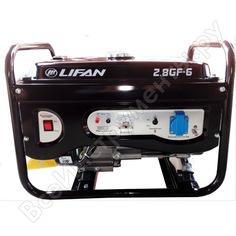 Бензиновый генератор lifan 2.8gf-6