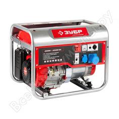 Бензиновый генератор зубр зэсб-4500