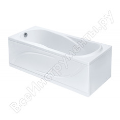 Ванна santek каледония 160х75 прямоугольная, акриловая 1.wh30.2.388, 00000060796