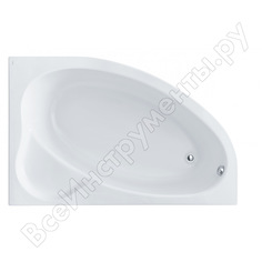 Ванна santek эдера 170х110 асимметричная, акриловая, правосторонняя 1.wh11.1.994, 00000044933