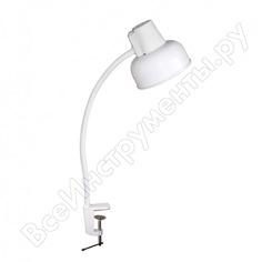 Настольный светильник трансвит бета-сш ндб37-60-175 60вт 220в лн е27 белый 1047