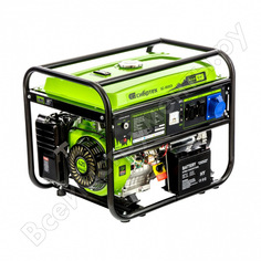 Бензиновый генератор сибртех бс-8000э, 6,6 квт, 230в, 4-х такт., 25 л, электростартер 94549