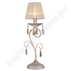 Настольная лампа rivoli 2011501 oro t1 wg 1хe14 40w б0038398