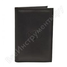 Бумажник водителя автостоп black натуральная кожа бвл5л-9