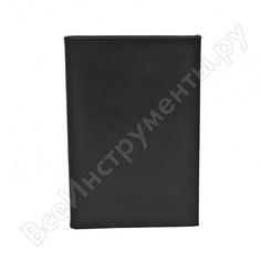 Бумажник водителя автостоп black натуральная кожа бвл5л