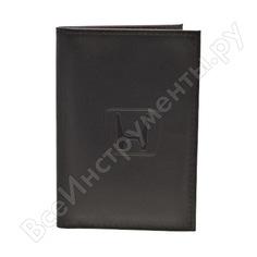 Бумажник водителя автостоп black натуральная кожа бвл5л-3
