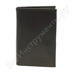 Бумажник водителя автостоп black натуральная кожа бвл7л
