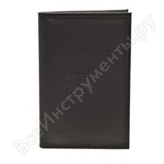 Бумажник водителя автостоп black натуральная кожа бвл5л-14