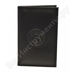 Бумажник водителя автостоп black натуральная кожа бвл5л-18