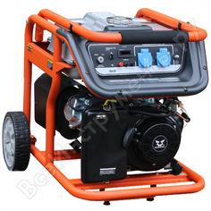 Бензиновый генератор zongshen kb 5000 1t90df500