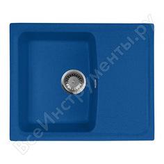 Кухонная мойка aquagranitex синий m-17k /323
