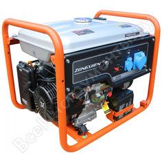 Бензиновый генератор zongshen pb 6000 e 1t90df604
