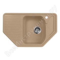 Кухонная мойка aquagranitex песочный m-10 /302