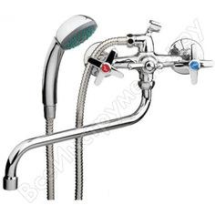Смеситель для ванны ledeme шаровый крест переключатель душа, керамика l2220 65724