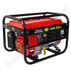 Бензиновый генератор dde g260 2,6 квт 6,5 л.с. 919-952