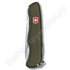 Нож victorinox forester 111 мм, 12 функций, зеленый 0.8363.4r