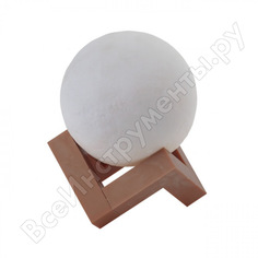 Настольный светильник эра nled4901ww белый б0043092