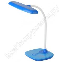 Настольный светильник эра nled-432-6w-bu синий б0028464